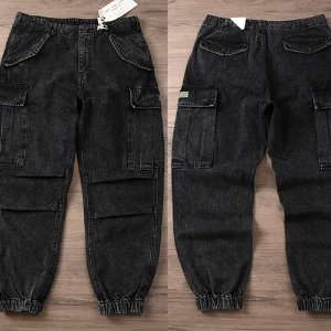 [MORATA TOLKINE] Washing Denim Jogger Pants 데님조거팬츠
