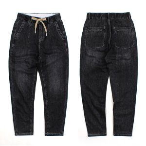 [TIATIA] BLACK DART BANDING DENIM 밴딩데님