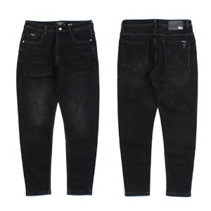 [ARCATO] GIMO WASHING BLACK JEANS 안감기모 워싱블랙진