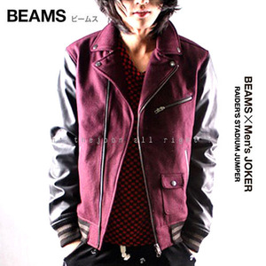 [BEAMS+Men's Joker]RAIDER'S STADIUM JUMPER 라이더점퍼 빔스+맨즈조커