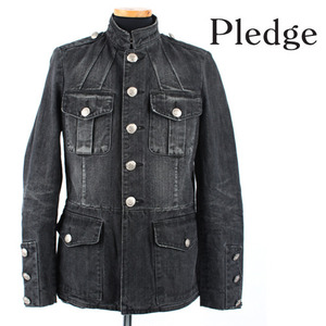 [Pledge]Vintage Denim Napol Jacket/플렛지정품/일본직수입