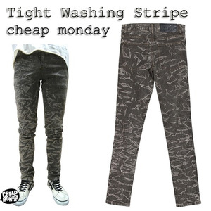 [CHEAP MONDAY] Tight Washing Stripe