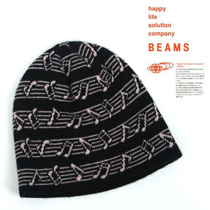 [BEAMS]Music Short Beanie/빔스 음표비니