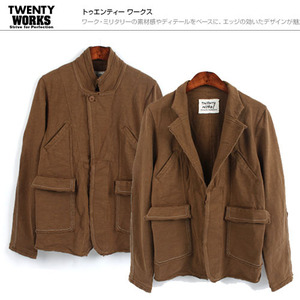 [TWENTY WORKS]2Way Vintage Jacket/빈티지자켓