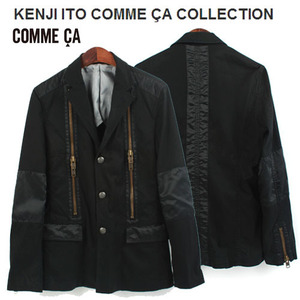 [KENJI ITO COMME CA COLLECTION]Zipper Jacket/켄지이토 꼼사 컬렉션 지퍼자켓