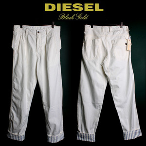 [DIESEL BLACK GOLD]Prambel Trousers 디젤블랙골드 롤업팬츠