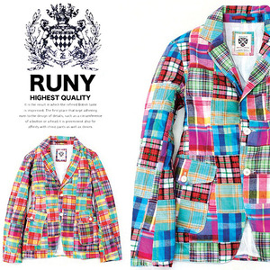 [RUNY]Patchwork Summer Jacket 루니 패치워크자켓