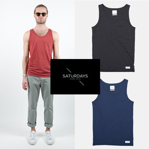 [Saturdays Surf NYC/BEAMS]Rosen Heather Tank 빔스 나시