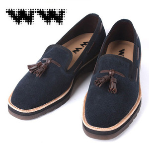 [WW]PLAIN TASSEL SHOES NAVY 디자이너슈즈