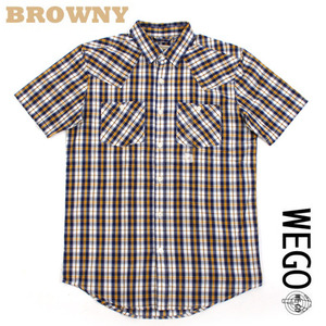[WEGO/BROWNY]Western check shirts 웨스턴 체크셔츠