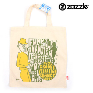 [ZAZZLE] Funky Soul Eco EcoBag 펑키애코백