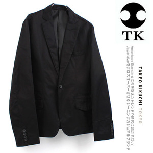 [TK/TAKEO KIKUCHI]One Button Piping Jacket 타케오키쿠치 슬림자켓