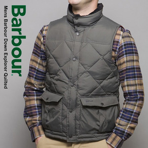 [Barbour]Quilted Down Vest CC 바버 퀼트다운조끼