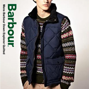 [Barbour]Quilted Down Vest NV 바버 퀼트다운조끼