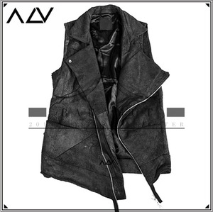 [ACV] EXCEED LEATHER VEST(H>F LIMITED)/양가죽베스트 리미티드상품