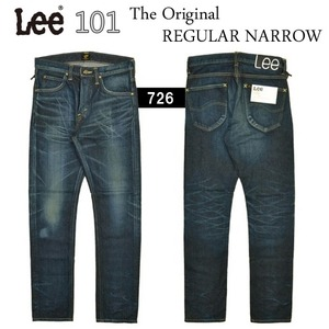 [LEE®JAPAN]101 Project Regular Narrow 리제펜 레귤러네로우핏