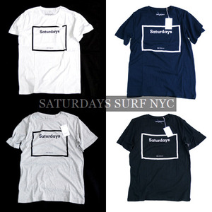 [Saturdays Surf NYC]Square City Print T 세러데이서프 프린트티