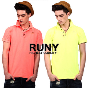 [RUNY]Fluorescence Polo Shirts 루니 형광폴로셔츠