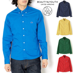 [BEAUTY&YOUTH/UNITED ARROWS]Color BD Shirts 뷰티앤유쓰 컬러셔츠