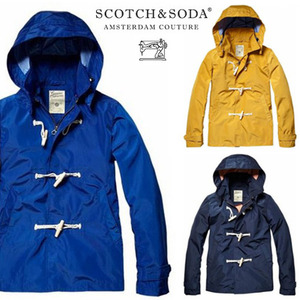[Scotch&Soda]Outdoor Summer Jacket with Toggle Closure  방수야상