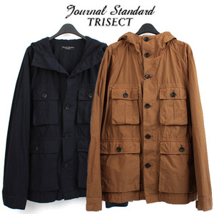 [JOURNAL STANDARD TRISECT]Safari Hood Jumper 저널스탠다드 사파리후드야상
