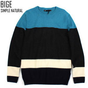 [BIGE HOMME]IRISH DOWN SHOULDER KNIT 아이리쉬니트