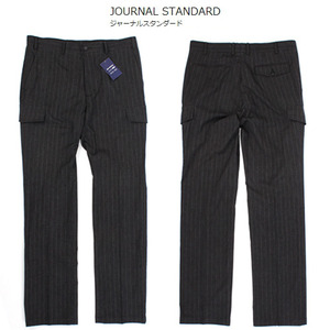 [SIMPLICITE PLUS] Stripe Cargo Pants 스트라이프 카고슬랙스