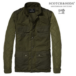 [Scotch&Soda]Military Jacket In Waxed Cotton 왁스코튼자켓