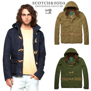 [Scotch&Soda]Toggle Hood Jacket 떡볶이후드자켓