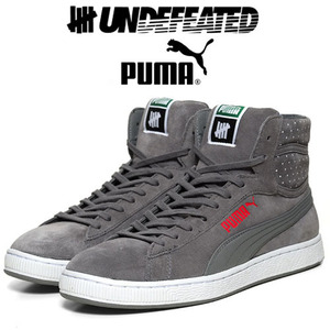 [UNDEFEATED×PUMA]MICRO-DOT HI-TOP GY 푸마×언디핏 하이탑