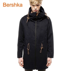 [Bershka] Drape neck coat /버쉬카 코트