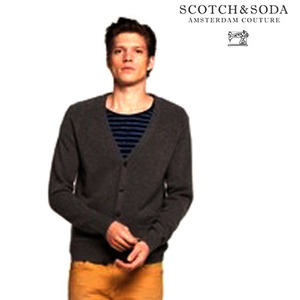 [Scotch&Soda]MOHAIR WOOL ELBOW PATCH CARDIGAN 모헤어울 가디건