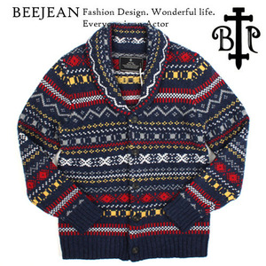 [BEEJEAN] Shawl Collar Wool Cardigan 비진 숄카라가디건