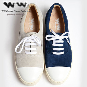 [WW]COW LEATHER SUEDE SNEAKERS 스웨이드스니커즈