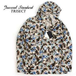 [JOURNAL STANDARD TRISECT]Flower Safari Hood Jumper 저널스탠다드 플라워사파리야상