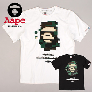 [AAPE BY A BATHING APE] AAPE 15 PRINT S/S TEE