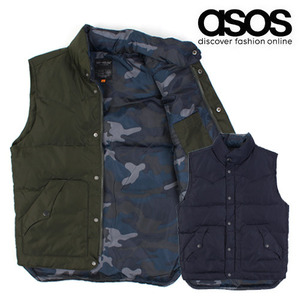 [ASOS]TOP HOUSE DUCK DOWN PADDING VEST 다운패딩조끼