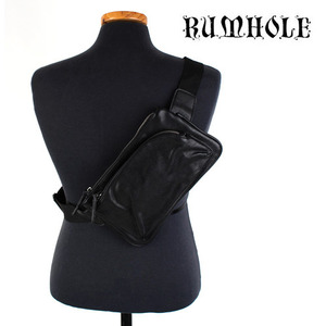 [RUMHOLE]Leather Cross Backpack 가죽 크로스백팩