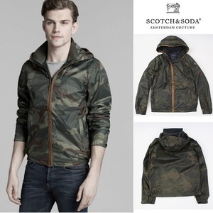[Scotch&Soda] Camo Nylon Hooded Jacket