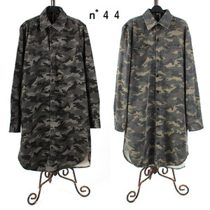 [NO.44] Camo Long Shirts 카모롱셔츠