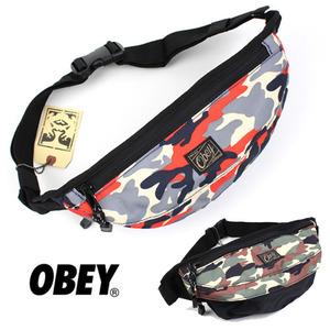 [OBEY] Camo Hipsack 오베이 카모힙섹