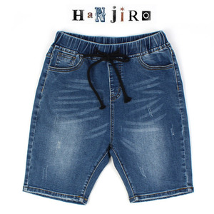 [HANJIRO Japan] Banding Short Denim 한지로제펜 숏데님