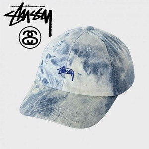 [STUSSY] Strap Low Denim Ballcap 스투시 데님볼캡