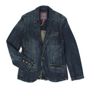 [efame] One Button Denim Jacket 원버튼 데님자켓