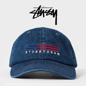 [STUSSY] USA Denim Strap Ballcap 스투시 데님볼캡