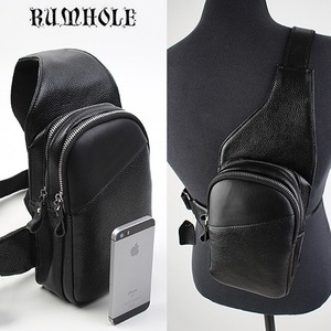 [RUMHOLE]Leather Cross Backpack 가죽 크로스미니백팩