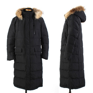 [XBXS] DuckDown Hood Long Coat 오리털후드롱코트