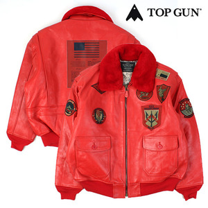 [TOPGUN] SM21241 G-1 FLIGHT BOMBER RED 탑건 항공봄버