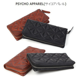[PSYCHO APPAREL] Cow Leather Wallet(M6121) 소가죽 장지갑
