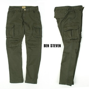 [BEN STEVEN] Winter Cargo Pants 안감기모 카고팬츠